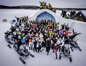 Icehotel personal. Foto Åsa af Kliger