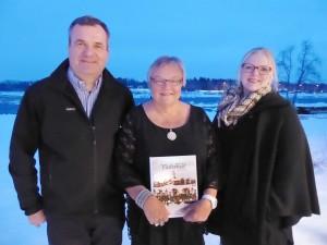 Manne Stenros, Margit Spolander och Johanna Spolander