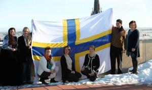 Luleå kommun har köpt in flaggor från alla minoriteter. Foto Frank Rizo, Luleå kommun