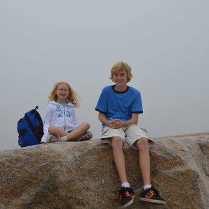 Barnen Aaron och Laura. Foto Privat.