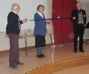 Invigningsceremoni Uppsala. Foto Sven Aaro
