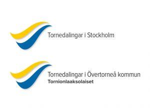 Logotyp lokal. Foto Yours
