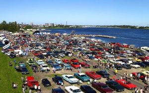 Classic Motormeet hålls även i år i Haparanda 15-16 juli, den här gången intill nya campingen. Foto Privat