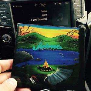 Första cdn släppes på Pajala marknad i juli. Foto Kim Kangas