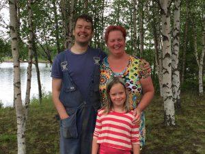 Åsa, Victor och Cajsa foto privat