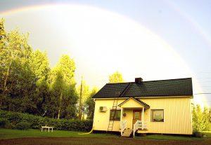 Huset i Erkheikki foto Privat